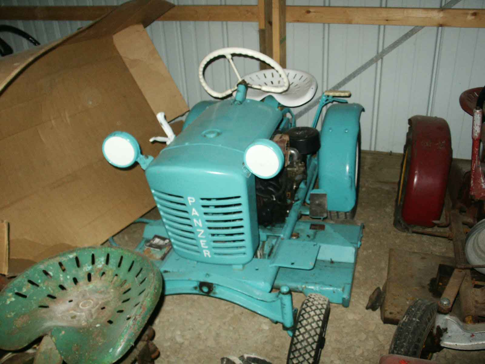 Bill Janitor's Race Tractor